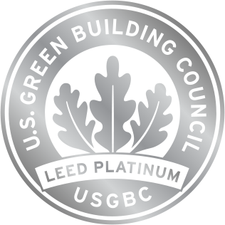 1180 peachtree for Platinum leed certification